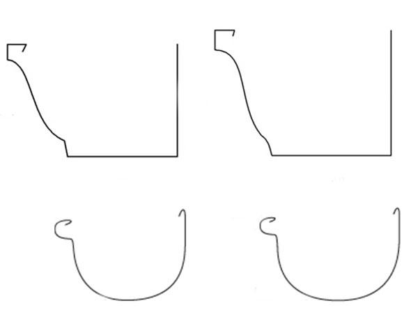 Tipos de canal n materiales y formas - Precio de canalones de pvc ...