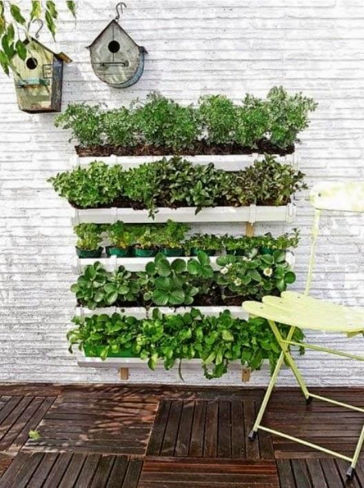 Jardin vertical PVC