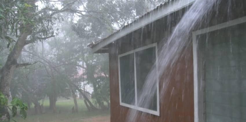 Casa Sin Canales Pluviales